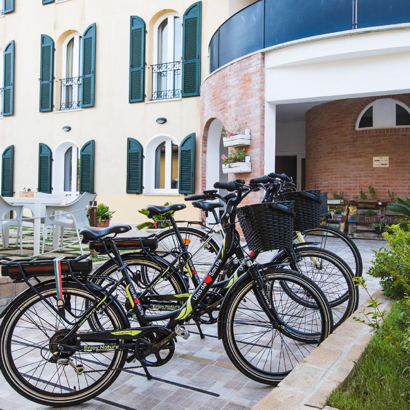 Noleggio bici MuMA Hostel